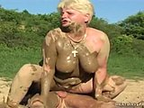 Grandmother, Cougar, Mature, German, Babysitter, Lady, Young, Fucking, Outdoor, Public, Granny, Mommy, Old