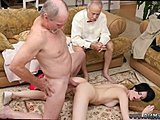 Old, Dad and girl, Old man, Fucking, High definition, Handjob, Masturbation, Facial