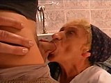 Babysitter, Grandmother, Mature, Milf, Old, Toilet, European, Hairy, Hungarian, Granny, Cougar, Mommy