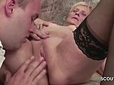 Hardcore, Grandmother, High definition, Young, Old and young, Old, Fucking, Teen, Granny, 69, Facial