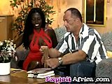 Sofa, Black, Interracial, Ebony, Curly, Nylon, Babe, Fucking, Big cock, Cock, Monster cock, African