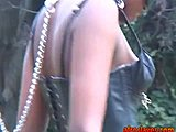 Nature, Babe, Fetish, Black, Ebony, Slave, African, Bdsm, Outdoor, Bound