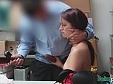 At work, Big cock, High definition, Amateurs, Small tits, Cock, Blowjob, Burglar, Tits, Office, Teen, Brunette, Monster cock, Pornstar