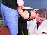 Rough action makes the sexy angels very horny