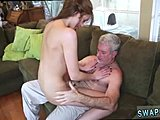Not daughter, Hardcore, Old and young, Dad and girl, High definition, Uncle, Small tits, Father-in-law, Old, Daddy, Young, Fucking, Tits, Ass, Bukkake, Blowbang