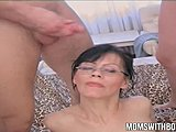 Cumshot, Group, Taboo, Sucking, Mature, Milf, Banging, European, Shy, Mommy, Babe, Brunette, Blowjob, Cock, Young, Oral, Old, Gangbang, Glasses, Cum, Cougar, Grinding