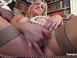 German, Masturbation, Milf, Big tits, Boobs, Solo, Stockings, Tits, Toys, Blonde, High definition
