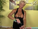 Mature bitches adore sucking the massive dicks