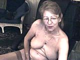 French, Grandmother, Solo, Mature, Masturbation, European, Stockings, Toys, Granny, Webcam