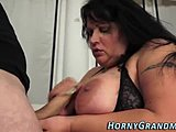 Assfucking, Hardcore, Grandmother, Chubby, High definition, Doggystyle, Cumshot, Big tits, Anal, Brunette, Boobs, Tits, Granny, Fat, Bent over