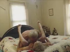 Sex, Hidden cam, Grandfather, Young, Voyeur, Grandmother, Old, Blonde, Granny, Amateurs, Hidden