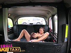 Fake Taxi Tschechisch Brünette