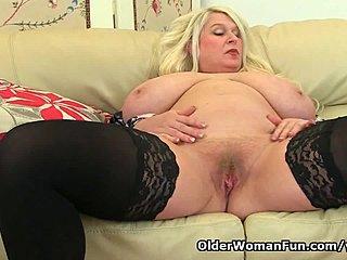 blond milf lesbisk porno