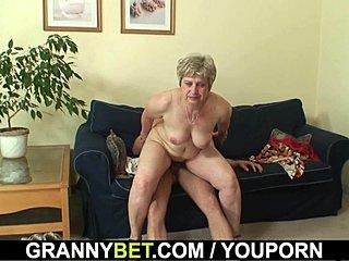 Grannys chatte rasée