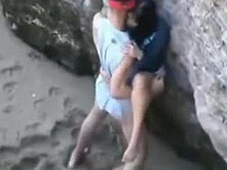 Παραλία Ηδονοβλεψίας πίπα Βίλμα Pornic