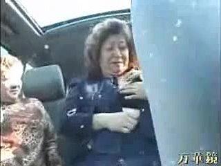 Japonský verejnosť sex na autobus