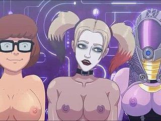 Легкий мульт секс видео