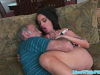 Message, Old men love oral sex that